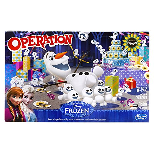 Disney – La Reine des Neiges – Operation – Docteur Maboul Version Anglaise