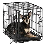 Best Midwest Of The Doors - Midwest iCrate Single-Door Pet Crate 18 x 12 Review