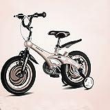 ZXUE Vélo pliant pour enfants 12/14/16 pouces hommes et femmes bébé Vélo 2-8 ans bébé poussette VTT (Couleur : Or, taille : 12 pouces)