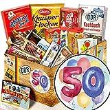 50. Geburtstag | DDR Ostpaket | Süßigkeitenbox DDR