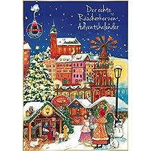 Crottendorfer Räucherkerzen - 2 Adventskalender mit 24 verschiedenen Räucherkerzen 2017 (Schnee)