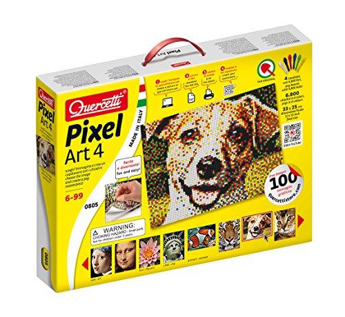 Preisvergleich Produktbild Quercetti 00805 - Pixel Art 4 Steckspiele, mehrfarbig