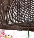 WUFENG Bambus Roll up Window Blind Bambusvorhang Türvorhang Anti-Insekt Vorhänge Para Puertas Balkon Wohnzimmer Teestube Sonnenschirm Vorhang Türvorhang (Farbe : A-1/sq.m)