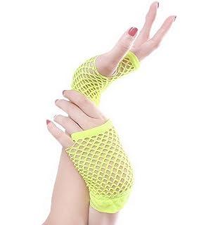 YiyiLai Schleife Deko Damen Hochzeit Handschuhe Netzhandschuh Braut Handschuhe