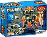 Saffire Coll Song Transformer Blocks - Mech Warrior and Jeep, Multi Color