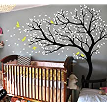 Amazon stickers arbre blanc bebe