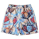 SANFASHION Herren Badeshorts Badehose in vielen Farben |Badeshort| Bermuda Shorts |Schwimmhose |Badehosen |Badehose für Männer in den Größen M bis 4XL