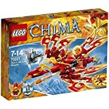 LEGO Legends Of Chima - Playthèmes - 70221 - Jeu De Construction - L'ultime Phoenix De Feu