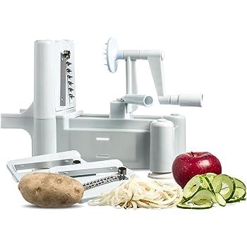 New and Essential Spiralizer Tri-Blade Spiral Vegetable Slicer