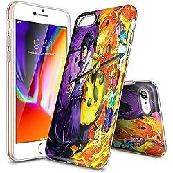JKFO Coque iPhone 6S et iPhone 6 Case Housse Etui Shock-Absorption Bumper et Anti-Scratch Effacer Back Coque pour iPhone 6S/6 (HD Clair KDAKDALGK00054)