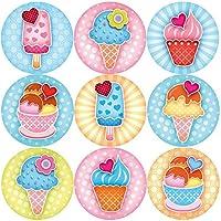 144 Sweet Summer Ice Cream 30mm Children