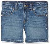 Tommy Hilfiger Mädchen Jeans Nora Short CLIMBST, Blau (Clifton Mid Blue Stretch 911), 152 (Herstellergröße: 12)