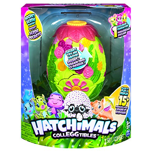 Spin Master 6040817 – Hatchimals –  CollEGGtibles Secret Scene Playset – Season 3