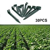 30 Stück 14,5 cm Erdanker Bodenanker Garten Erdnägel Befestigungsanker für Unkrautvlies Weed Stoff Garten Netz Allzweckplane