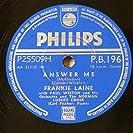 Frankie Laine (Vol One)