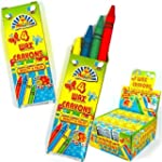 Wax Crayons Kids Party Bag Fillers 4...