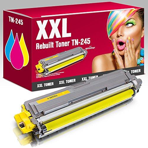 Preisvergleich Produktbild ms-point® 1x Kompatibler Toner für Brother DCP-9020CDW HL-3140CW HL-3150CDW HL-3170CDW MFC-9130CW MFC-9140CDN MFC-9330CDW MFC-9340CDW ersetzt TN-241 TN-245 TN241 TN245 Yellow Gelb