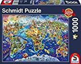 Schmidt Spiele Puzzle 58288 - Entdecke Unsere Welt; 1000 Teile Puzzle