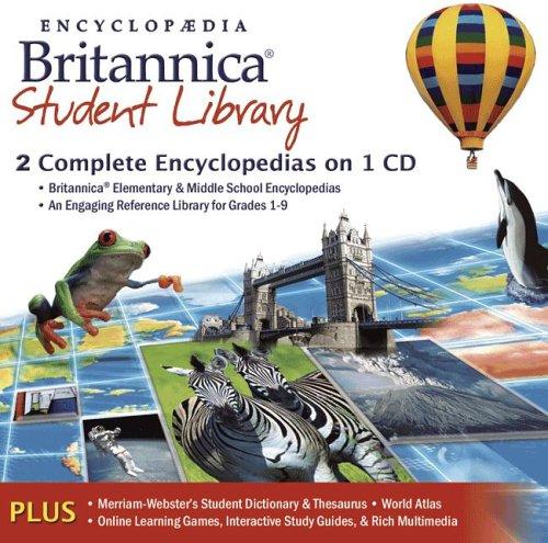 Encyclopedia Britannica Student Library (CD)
