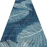 ZRUYI Tapis Couloir Tapis De Passage D'allée Impression Et Teinture 3D Style Abstrait Salon Balcon Antidérapant Lavable, Plusieurs Tailles (Couleur : A, taille : 0.6x1.5m)