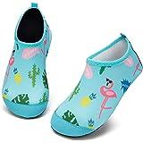 Kyopp Scarpe da Mare Bambini Rapida Asciugatura Ragazze Ragazzi Scarpe da Mare da Spiaggia Adatto per Spiaggia, Canottaggio,