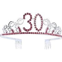 Frcolor - Corona da principessa per festa di compleanno dei 30 anni, da donna