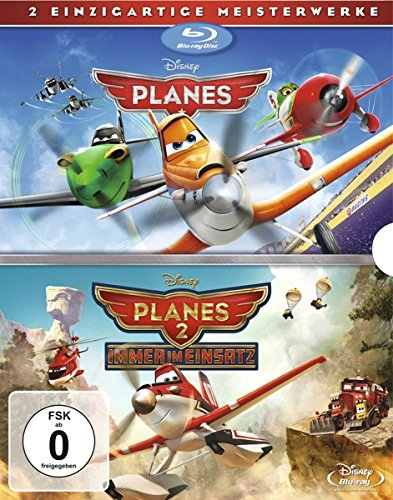 Planes + Planes 2 Doppelpack [Blu-ray]