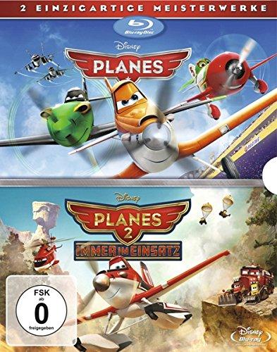 Planes + Planes 2 Doppelpack [Blu-ray] (Disney Pixar Cars-film)