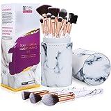 FILY DUAIU brochas de maquillaje profesional de mármol profesionales de 15 piezas brochas maquillaje para en polvo de base y