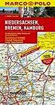 MARCO POLO Karte Niedersachsen, Breme...