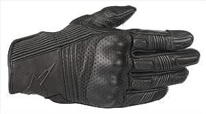 Schwarz//Schwarz Alpinestars Motorradhandschuhe Mustang V2 Gloves Black Black S