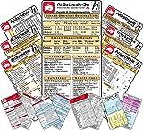 Anästhesie Set -XL- 11 Karten-Set - Antidota & Notfallmedikamente + Postoperative Schmerztherapie, Intubation & Beatmung, basics, Opioide & Muskelrelaxantien, Hypnotika,, Perfusor Dosierungen, Blutgase, Herzrhythmusstörungen (2014-09-05)