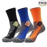 Best Athletic Socks - PORHOWE 3 Pairs Basketball Socks Compression Socks Review