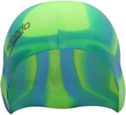 Speedo Unisex-Junior Flat Silicone Cap Swimcap