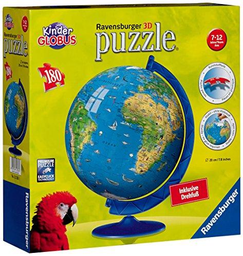 Imagen 4 de Ravensburger 12326 Mapamundi XXL puzzleball® - Puzzle esférico (180 piezas)