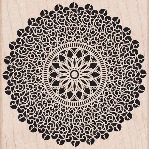 Hero Arts Woodblock Stempel, Starburst Spitze