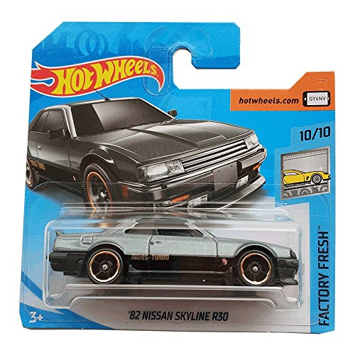Hot Wheels 82 Nissan Skyline R30 - Factory Fresh - 2018 169/365