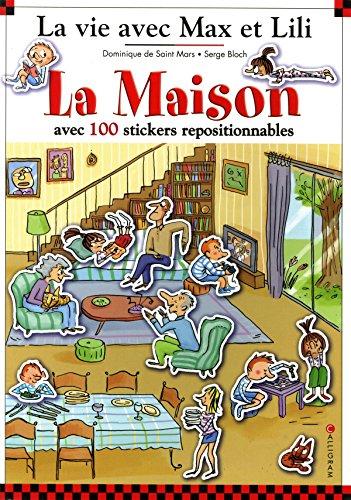 La Maison : Avec 100 stickers repositionnables