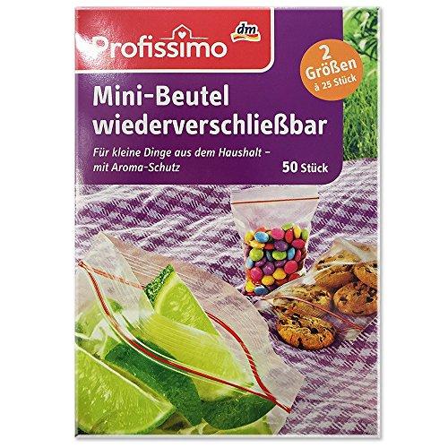 Profissimo Mini Beutel wiederverschließbar (50St)