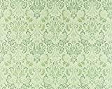 Vliestapete Barock-Tapete XXL EDEM 966-28 Muster Ornament klassisch grün hellgrün dunkelgrün | 10,65 qm