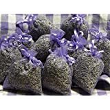 Quertee lav-10, 10 x Bags of Lavender Filled With Real French Lavender Total of 100 g Lavender Blossom (Home & Garden)