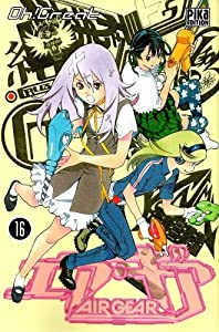 Air Gear Edition simple Tome 16