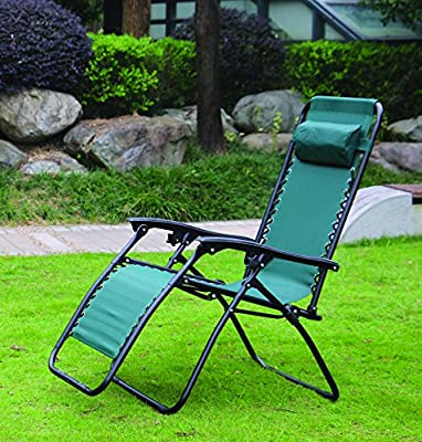 Redwood BB-FC114G Textoline Reclining Chair - Green - cheap UK light shop.