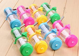 Pets Empire Automatic Non-Drip and Leak Water Bottle for Hamster and Small Pets, 80ml(Colour May Vary) - Set of 1