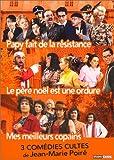 Coffret Jean-Marie Poiré 3 DVD : Papy fait de la résistance / Le Père Noël est...