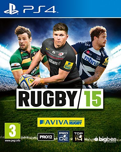 Rugby 15 (PS4) by Koch International