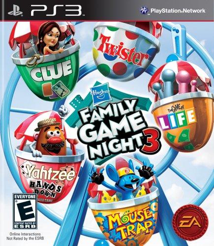 Electronic Arts (Welt) Hasbro Familien-Spiele Nacht 3 (Import-Version: Nordamerika und Asien) (Spiel Nacht Ps3)