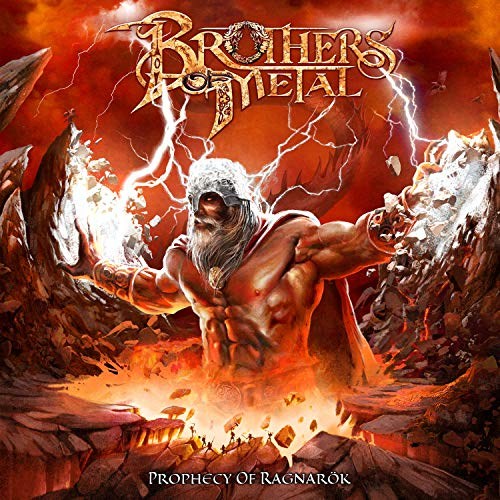 Brothers of Metal: Prophecy of Ragnarök (Audio CD)