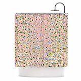 Kess eigene vasare Nar Pfirsich Schleifenmuster Muster Pastell Rosa Vorhang für die Dusche, 175,3x 177,8cm