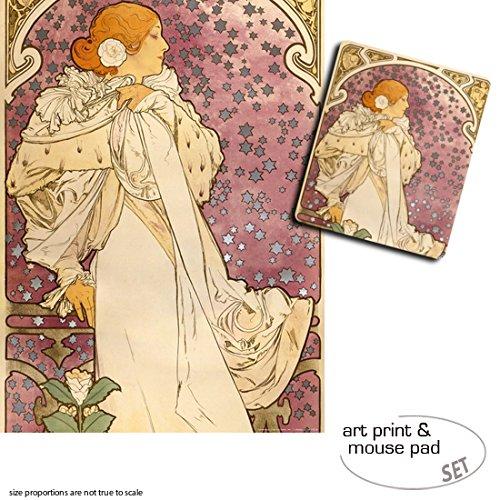 set-regalo-1-poster-impresion-artistica-80x60-cm-1-alfombrilla-para-raton-23x19-cm-alphonse-mucha-sa